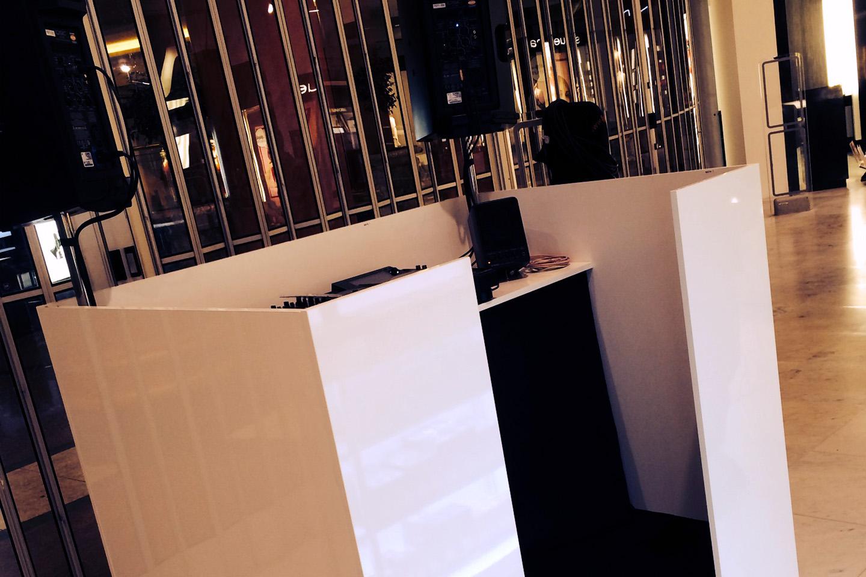 DJ Booths - Hugo Boss Manchester
