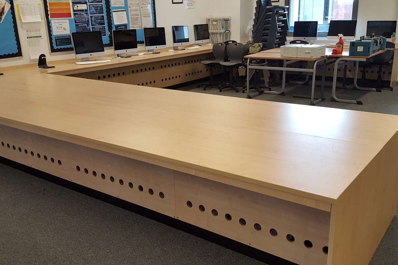 Manchester Creative & Media Academy - Classroom Refurbishment