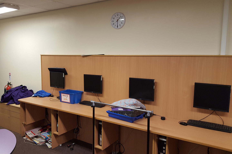 Contemporary Classroom Installation
