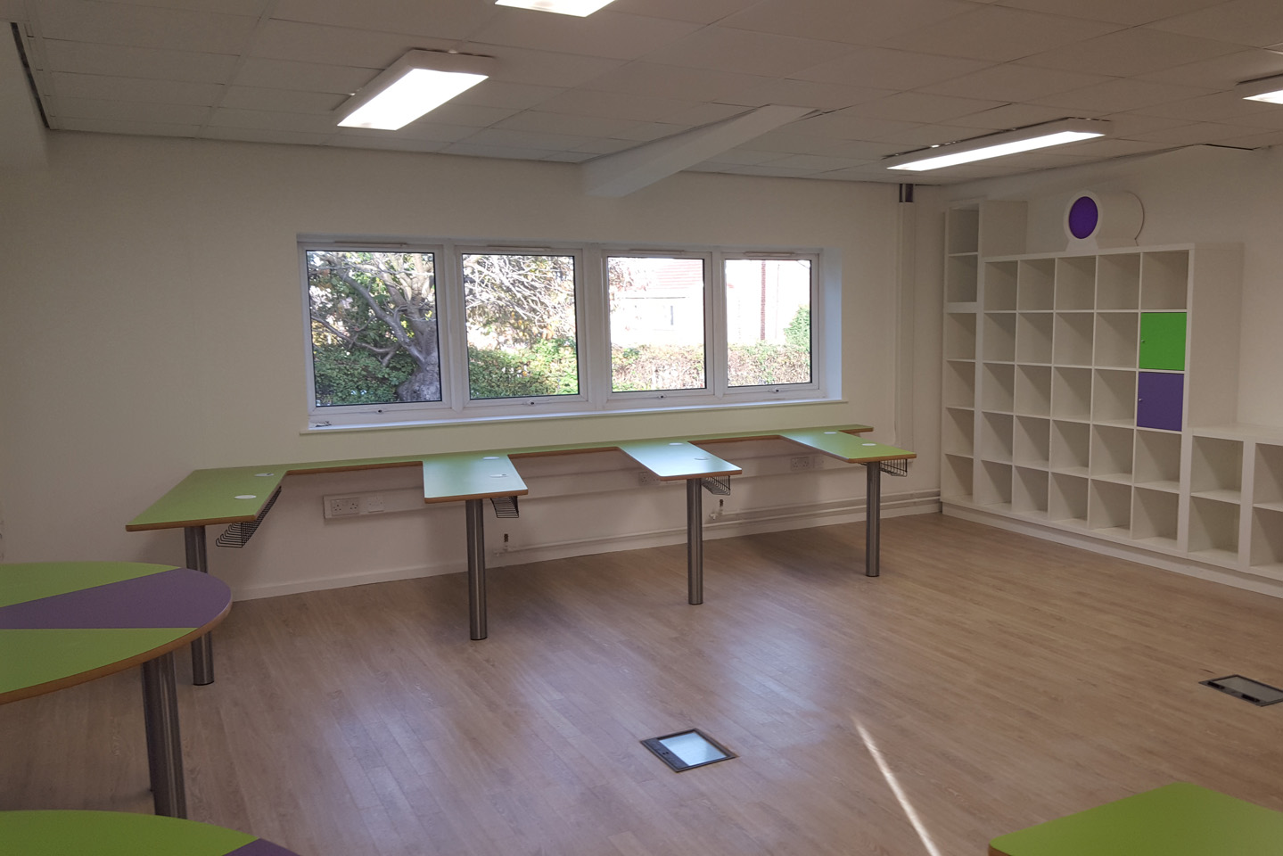 Primary School Classroom Upgrade, Rotherham