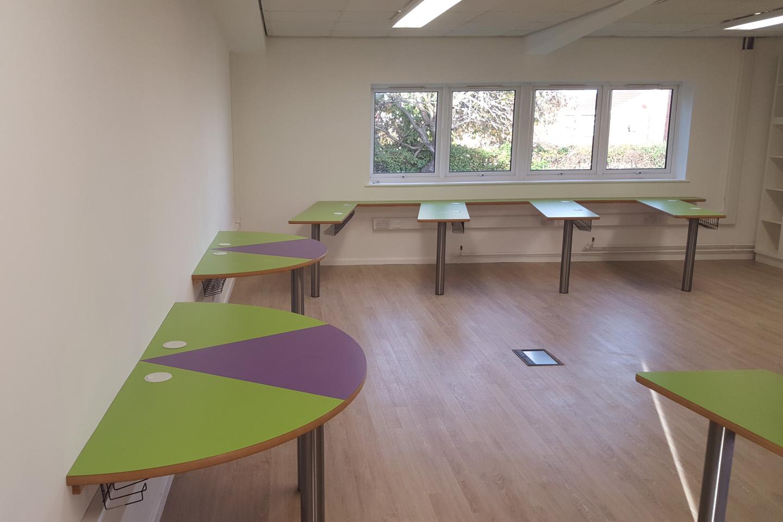 Classroom Refurbishment, Rotherham