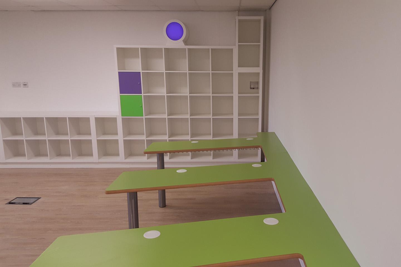 Primary School Classroom Refurbishment, Rotherham