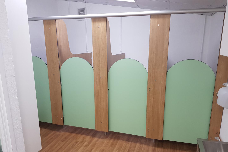 Primary School Toilet Interior Refurbishment